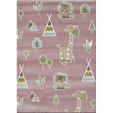 Παιδική χαλομοκέτα Baby Jungle 055 Lila